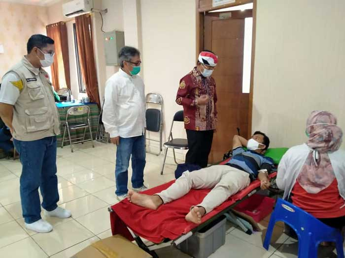 Meriahkan HUT Kota Tangerang, Katar Sangiang Jaya Gelar Donor Darah