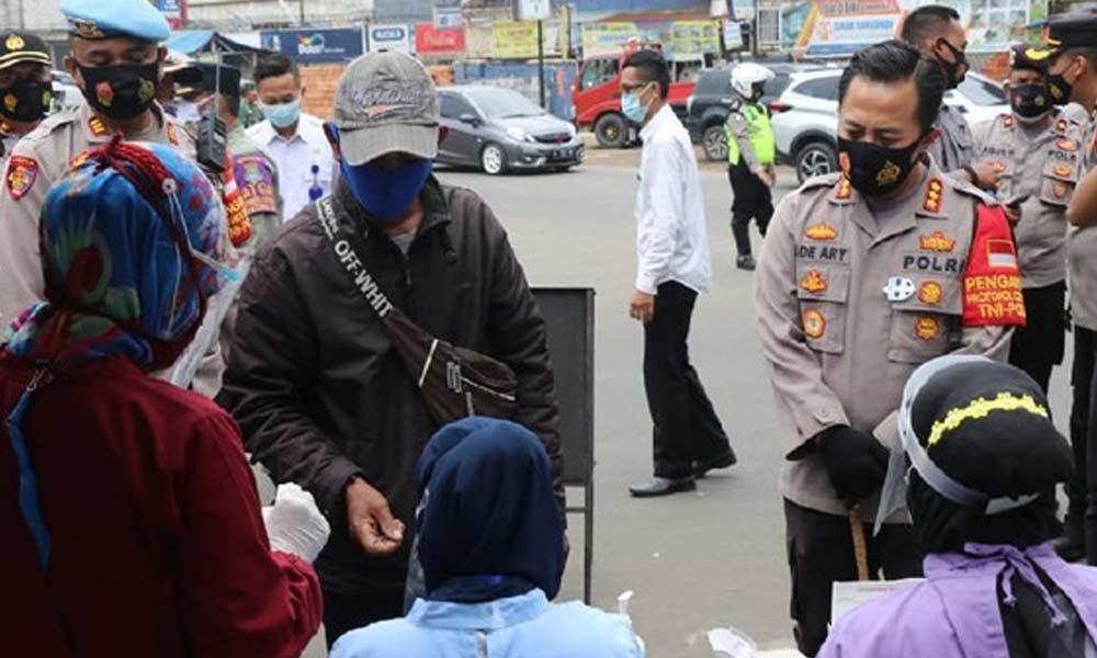 Operasi Yustisi di Cikupa, 2 Orang Reaktif Corona  Operasi Yustisi di Cikupa, 2 Orang Reaktif Corona Operasi Yustisi di Cikupa 2 Orang Reaktif Corona