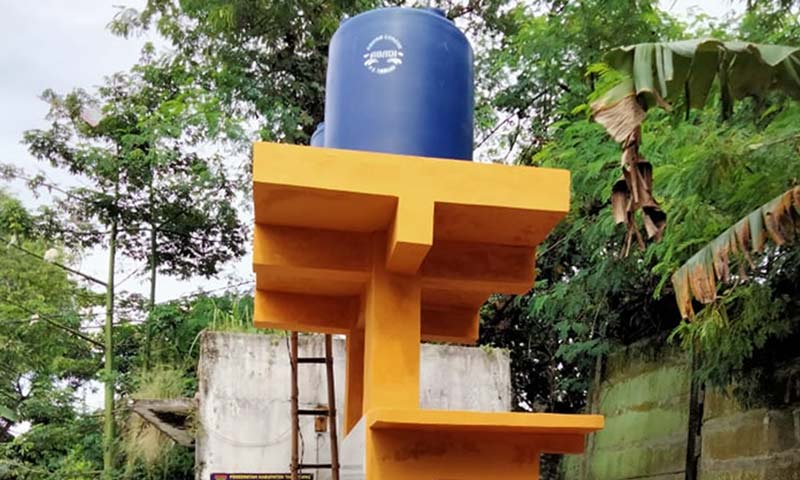 Pemkab Tangerang Bantu Sarana Air Bersih untuk Warga Perumahan Graha Cibadak  Warga Perumahan Graha Cibadak Punya Sarana Air Bersih Baru Warga Perumahan Graha Cibadak Punya Sarana Air Bersih Baru