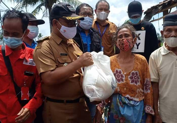 3 Desa dihantam Angin Putting Beliung, Camat Pakuhaji akan Bangun Kembali 2 Rumah yang roboh