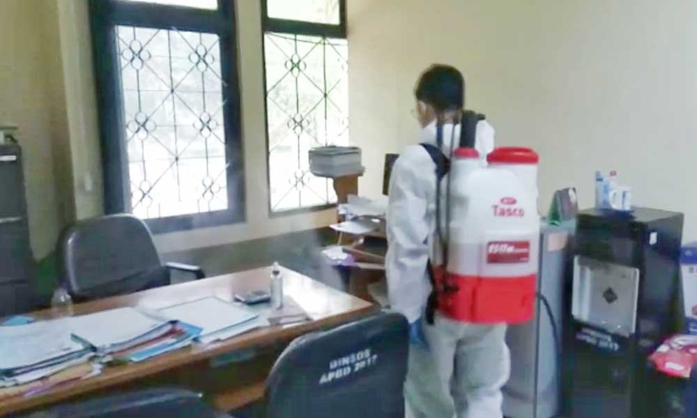 Cegah Penularan Covid-19, Kantor Dinsos Kabupaten Tangerang Tutup Pelayanan Offline Sementara Waktu