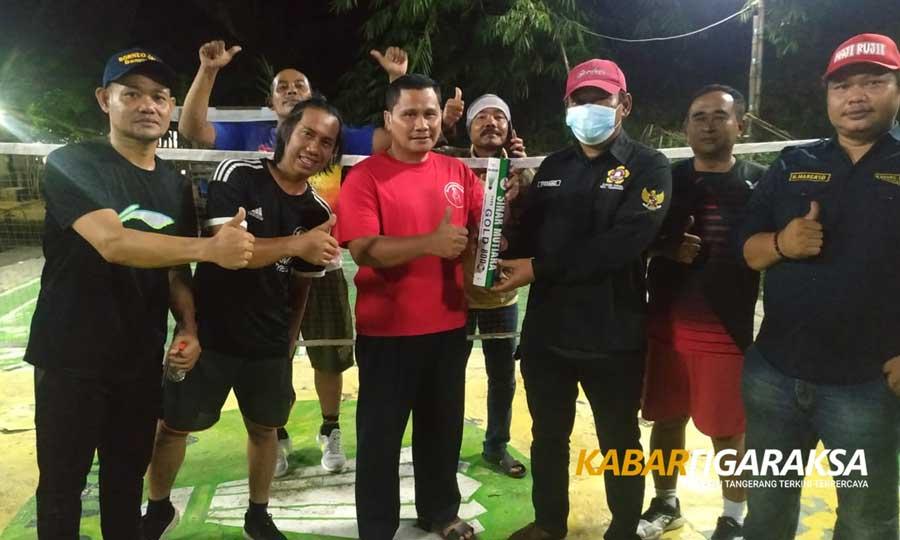 Olahraga Persahabatan Jadi Ajang Katar Kecamatan Tigaraksa Silaturahmi ke Pemuda Perum Graha Cibadak