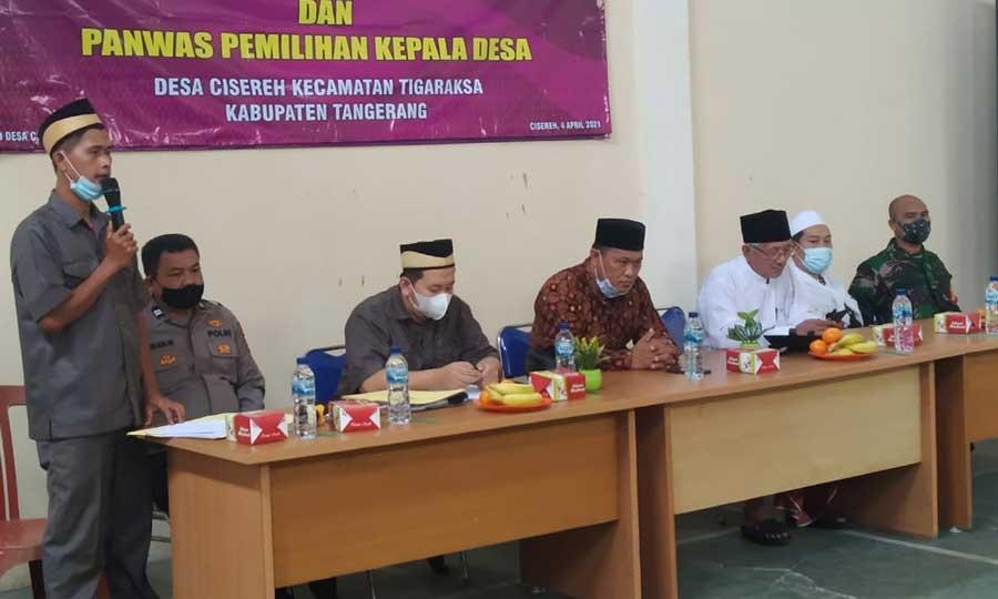 BPD Cisereh Gelar Rapat Pembentukan Panitia Pilkades