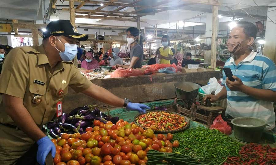 Jelang Ramadhan Bupati Tangerang Pastikan Stok Sembako Aman