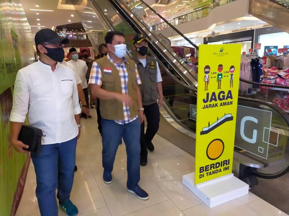Hari Pertama Idul Fitri, Sekda Monitoring Tempat Wisata dan Mall